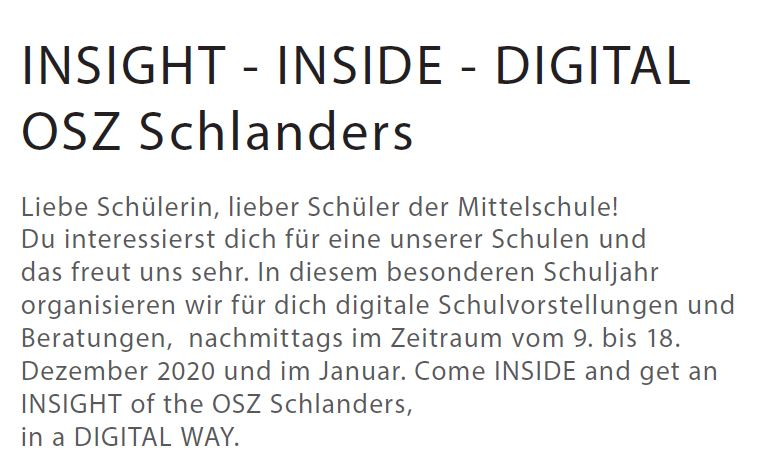 OSZ | Insight - Inside - Digital